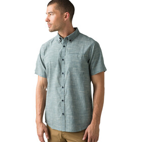 Prana Agua T-shirt Heren, atlantic